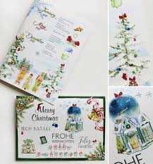Maria R Momental Designs Custom Illustrated Christmas