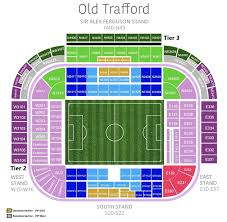 Manchester United vs Leicester City tickets available