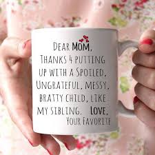 Dear Mom Mug. Christmas Present ...