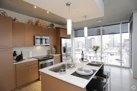 Two Bedroom Kitchen/Dining   One Light Luxury Apartments