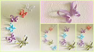 diy room decor 3d paper erflies you