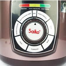 Mã ELMALLCOIN hoàn 8% xu đơn 500k] Nồi áp suất điện Saiko EPC-818 đa năng 5  lít - hàng chính hãng
