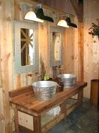 bucket sink bathroom bucket sink bathroom rustic bathroom sink with galvanized steal bucket sinks galvanized bucket