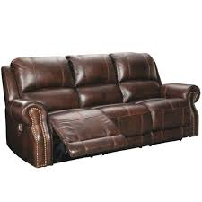 ashley furniture buncrana leather power
