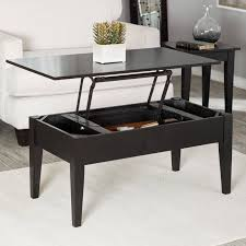 chic and creative lift up top coffee table the best tables turner espresso hayneedle throughout image with white