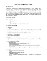 Product Design Proposal Example Product Proposal Template
