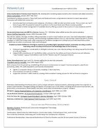 Resume Business Development Manager Oil And Gas New Oil And Gas