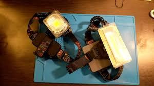 new <b>headlamp</b> with <b>COB led</b>, 18650, Test W606 and W608 ...