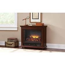 pleasant hearth 31 75 in w 5200 btu cherry wood and metal flat wall infrared
