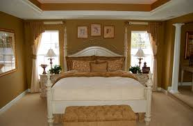 traditional bedroom decor. Bedroom:Marvelous Traditional Master Bedroom Decorating Ideas With Brown Wall Paint And White Bedding Sets Decor