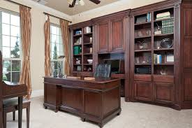 office built in. custom built-in cabinetry traditional-home-office office built in