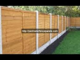 wood fence panels. How To Build A Fence With Wood Panels I