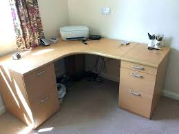 curved office desk. Desk For Sale Rounded Corner Curved Office Desks With 2 Filing Cabinets Attached