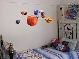 Solar System Bedroom Decor Hanging Solar System For Kids Room All New Home Design