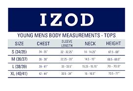 Izod Uniform Young Mens Short Sleeve Performance Polo Shirt
