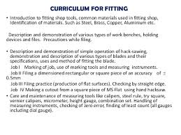 workshop practise curriculum