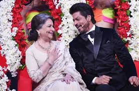 Image result for shahrukh khan and sharmila tagore
