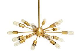 sticks chandelier