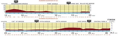 Nyc Marathon Elevation Chart The Big Day 2017 Tcs Nyc Marathon Day Why I Rundisney
