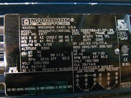 marathon electric motor wiring diagram wiring diagram Marathon Electric Motor Wiring Diagram Problems marathon electric motor wiring diagram for aho181 marathon electric motor 10hp 230 460v 3 3510 2910rpm hva254ttfl14001aal 3 jpg Marathon Electric 110-Volt Motor Wiring