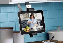 Belkin's cabinet mount is a great option for smaller kitchens as it takes  up no counter