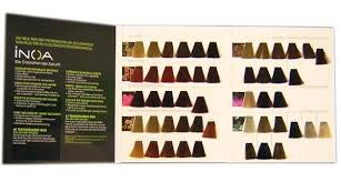 Loreal Professional Inoa Hair Colour Chart Professional