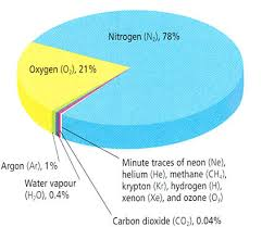 Oxygen Pie Chart 3d Pie Chart Of Atmosphere Composition Www