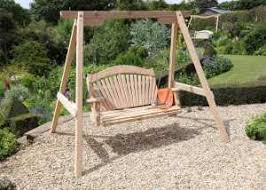 RHS Serenity Swing Seat in Cedar