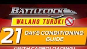 Battlecock Walang Turok 21 Days Conditioning Guide