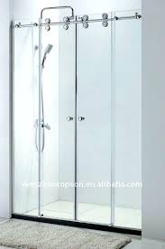 sliding glass shower fabulous glass double sliding doors door sliding glass shower door hardware home design