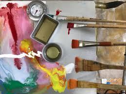 encaustic demo and work with marieke dench beginners r f encaustic painting