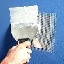 repair small hole in drywall repair hole in ceiling drywall wall ceiling repair simplified clever tricks repair small hole in drywall