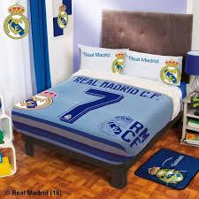 real madrid 7 blanket with sherpa