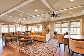 low ceiling using recessed lights and fan for traditional on lighting for living room with low