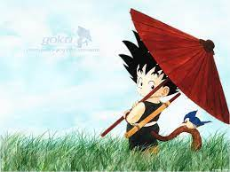 Kid Goku - Wallpaper and Scan Gallery ...