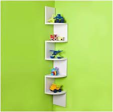 Small Picture corner shelf design for trendy living interior Modern Shelf