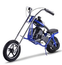 mini gas 2 stroke chopper half size motorcycle