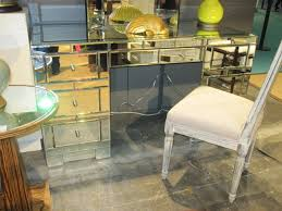 mirrored office furniture. Cool Bedroom With Mirrored Writing Desk Office Furniture