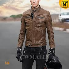 mens leather biker jacket cw806030 jackets cwmalls com
