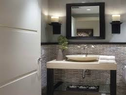 modern half bathroom. small modern half bathroom