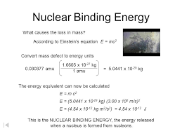 calculate to binding energy how president s