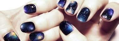 Vesmír Jako Na Dlani či Přímo Na Nehtech Galaxy Nail Art Krok Za
