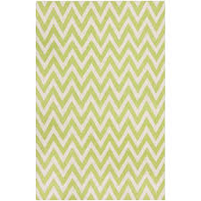 safavieh dhurries green ivory 4 ft x 6 ft area rug