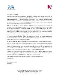 Pta Templates Pta Cover Letter Basixx