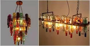 using wine and beer bottles diy craft