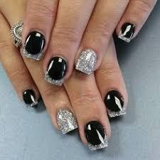Gel Nails Designs Ideas glittery gel nail designs