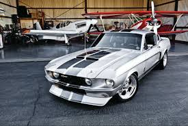 1968 Ford Mustang Fastback Converted Into a '67 G.T. 350 Shelby ...