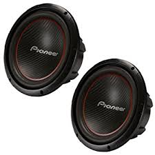 pioneer speakers subwoofer. 2) pioneer 12 inch 2600 watt champion subwoofers svc car subs pair | ts- speakers subwoofer