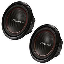 pioneer 12 inch sub. 2) pioneer 12 inch 2600 watt champion subwoofers svc car subs pair | ts- sub