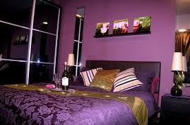 bedroom design for girls purple. Romantic Purple Bedroom Ideas Decorative Flower Wall Picture Design For Girls L
